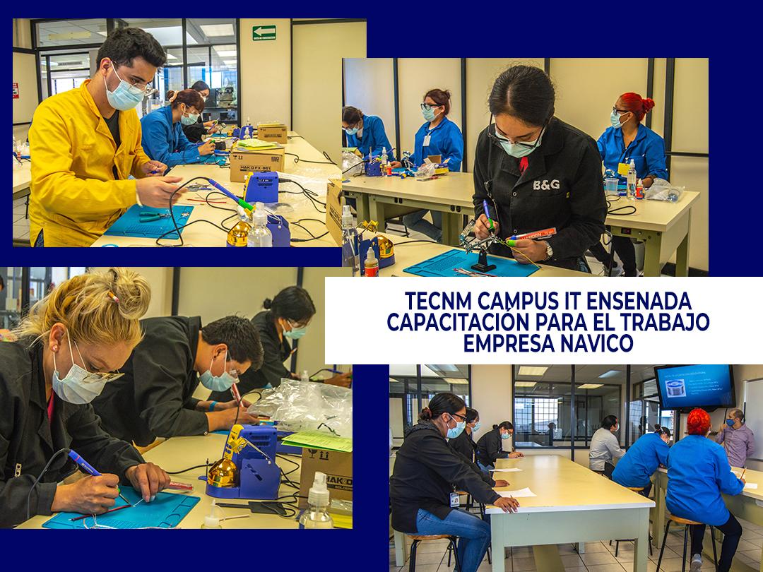 TecNM campus IT Ensenada capacita al personal de la empresa Navico