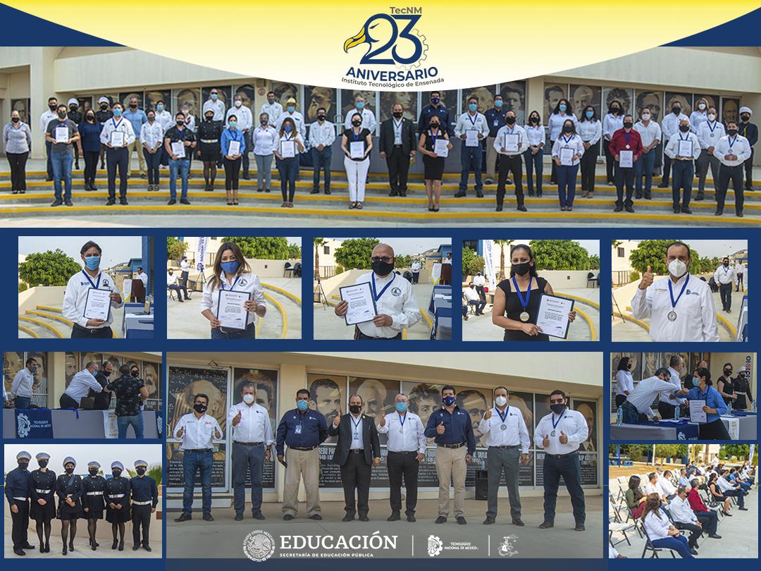 El TecNM campus IT Ensenada celebra su  XXIII Aniversario