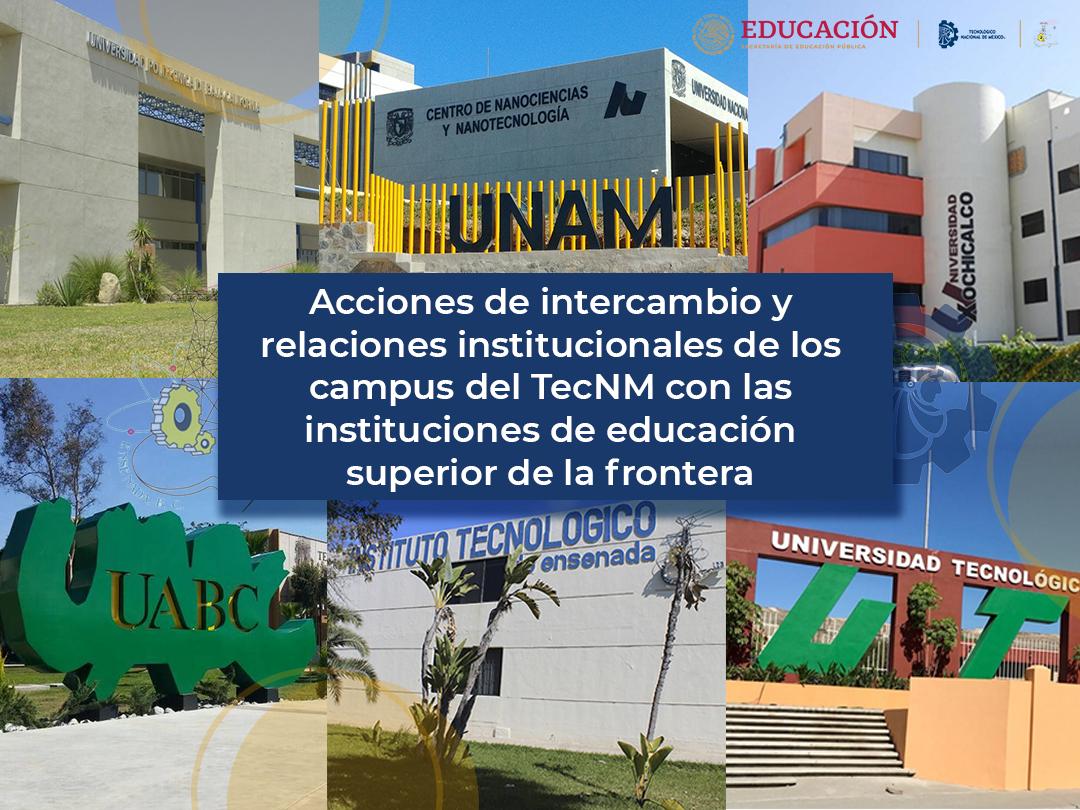 Se presentan algunas de las acciones de cooperación del TecNM campus IT Ensenada con Instituciones de la localidad