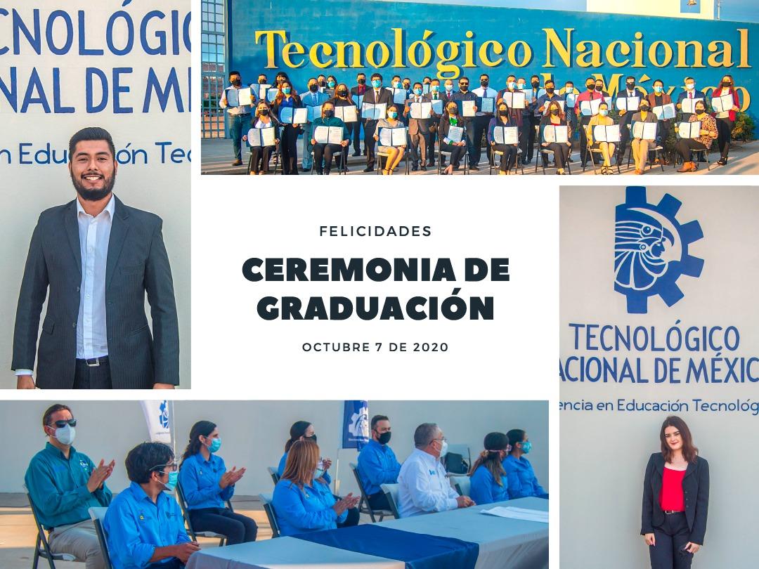 Reciben Título y Cédula Profesional más de cien egresados del TecNM campus IT Ensenada
