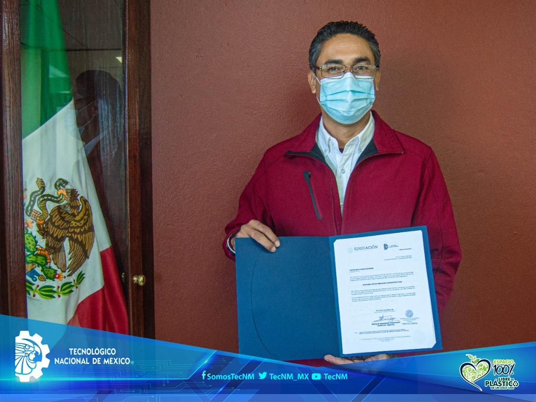 Asume cargo de subdirector Servicios Administrativos Ing. Víctor de la Rosa Ramírez