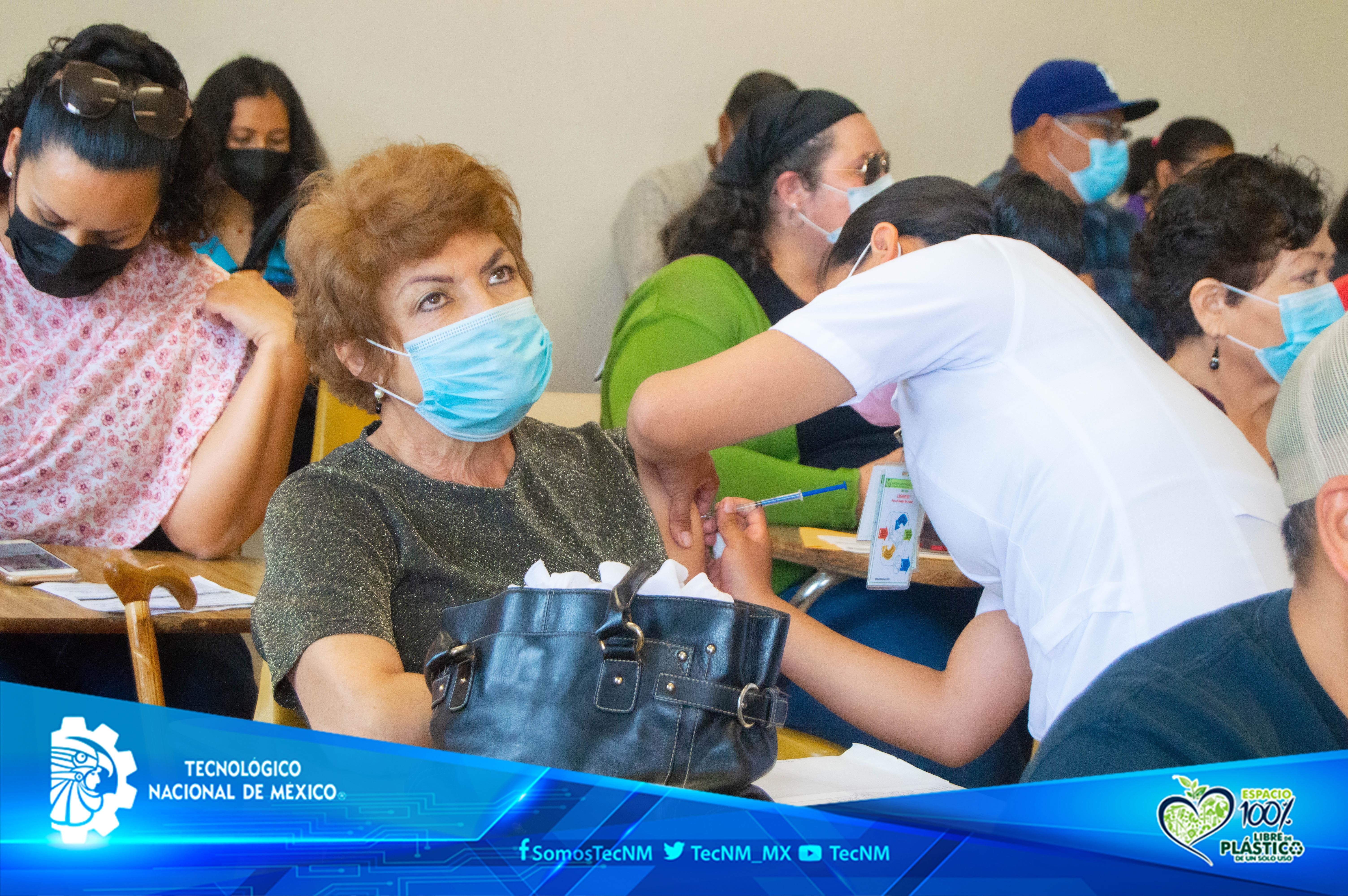 El Tecnológico Nacional de México, Centros Nacionales de Vacunación contra el virus SARS-CoV2-19 (Covid-19).