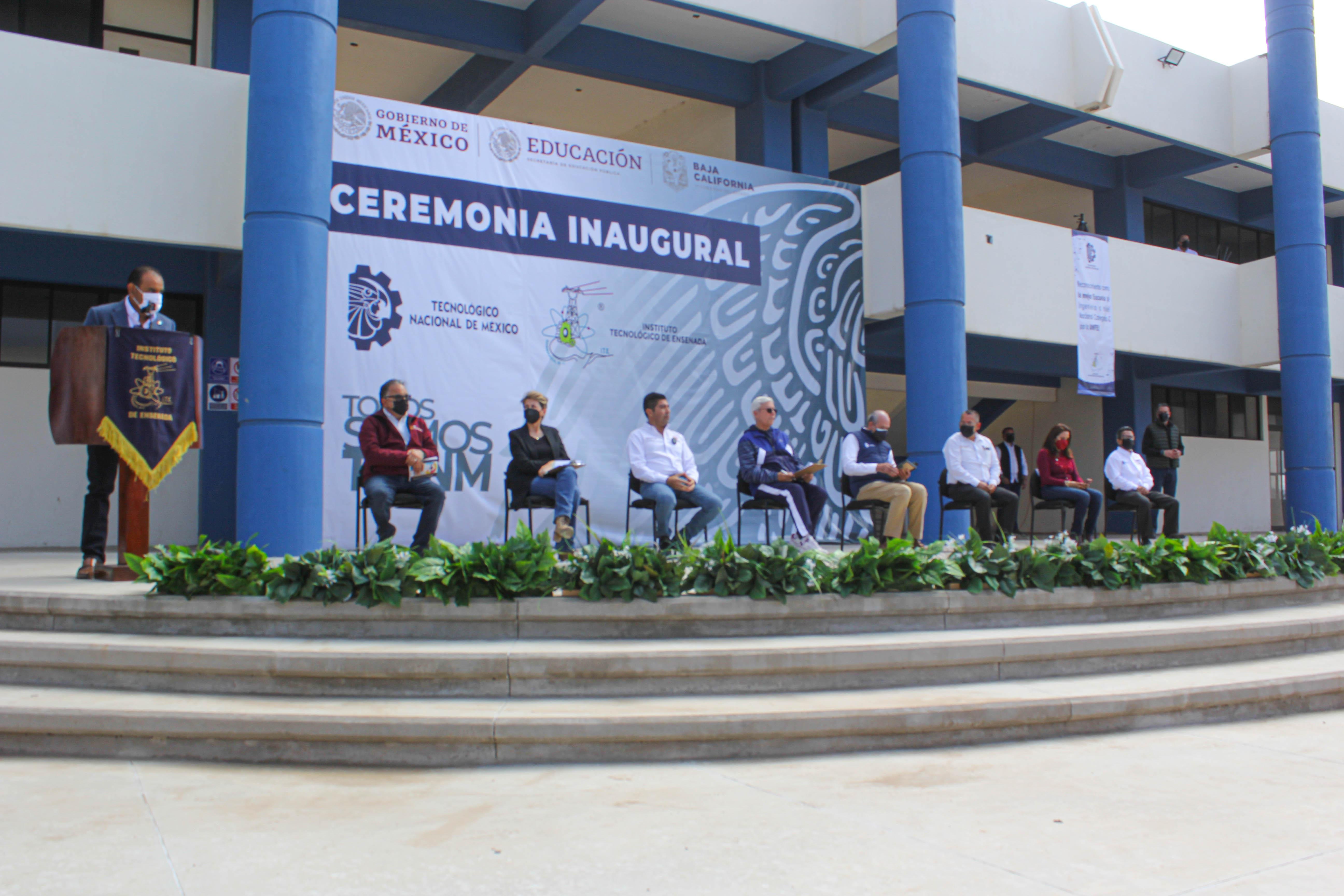 Ceremonia Inaugural del centro de formación académica, deportiva y cultural