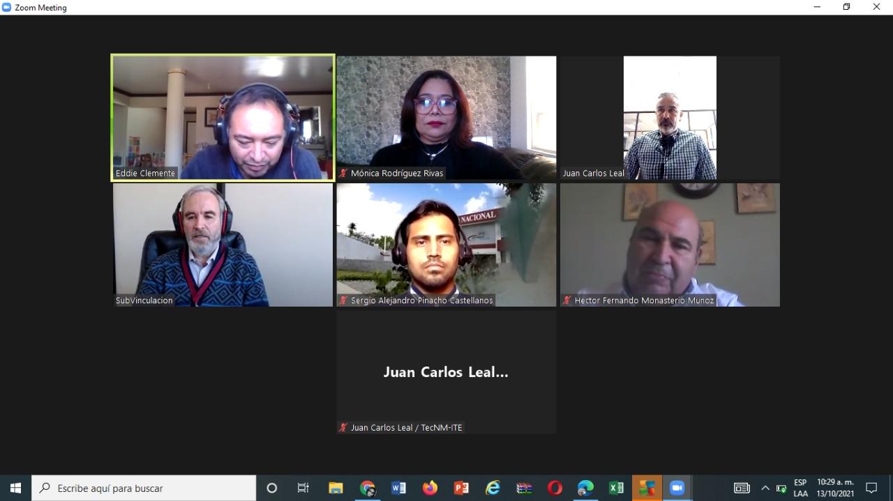Reunión de trabajo con Centro de Investigación y Desarrollo de Tecnología Digital (CITEDI)