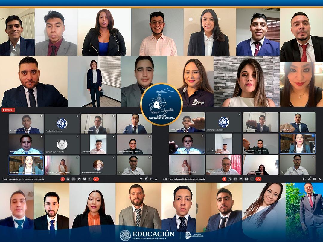 Titulación Integral virtual del TecNM campus Instituto Tecnológico de Ensenada